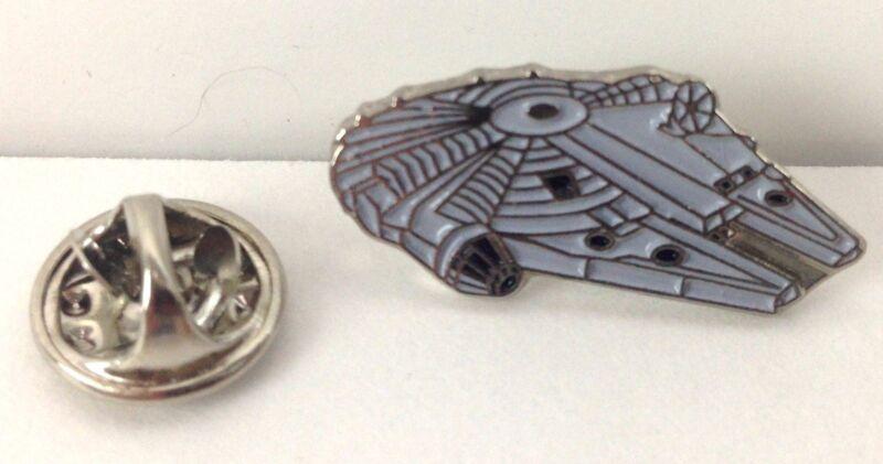 MILLENNIUM FALCON - Star Wars Movie Series - UK Imported Enamel Pin (Han Solo)
