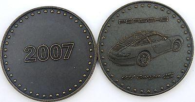 Porsche Christophorus Calendar Coin, 2007/ 911 Targa 4S
