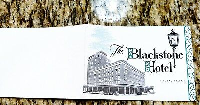 Collectables - Advertising Brochure - The Blackstone Hotel, Tyler TX, c. 1950 -