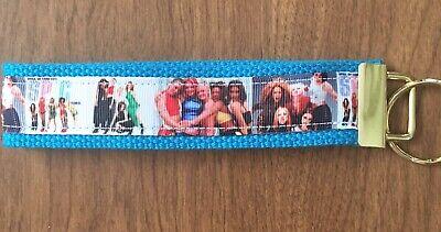 Spice Girls Wristlet Key Fob Zipper Pull Key Chain Fob Zipper Pull