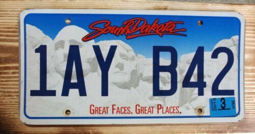 USA Nummernschild/Kennzeichen/license plate/US car/ Harley * South Dakota *