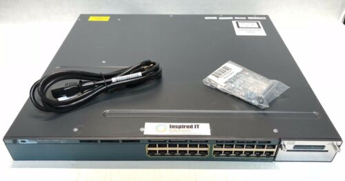 Ws-c3560x-24p-l - Cisco Catalyst 3560x 24 Port Poe, 715w, Lan Base *fast Ship*