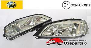 Genuine HELLA Holden Astra TS******2004 Pair LH+RH Head Light Lam Dandenong Greater Dandenong Preview