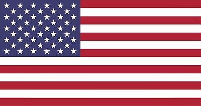 American Flag Patriotic Sticker Decal Laptop Wall Car Truck Hard Hat Helmet   ()