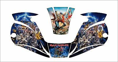 Miller Digital Elite 257213 Titanium Welding Helmet Wrap Decal Iron Maiden