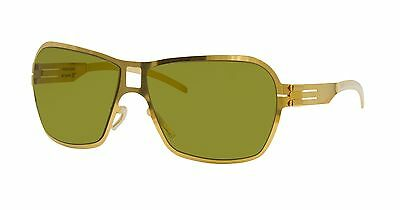 Ic! Berlin Jade Sonnenbrille Solid Gold Moos Linse Deutschland Neu Authentisch