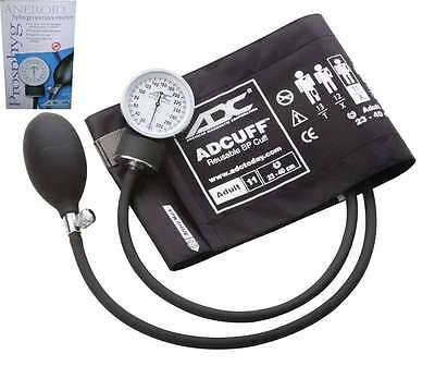 ADC Prosphyg 760 Aneroid Sphygmomanometer Black Adult 11 Cuf