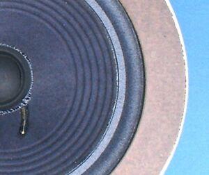Large Advent Woofer RECONE SERVICE / Speaker Re-cone / Speaker Repair
