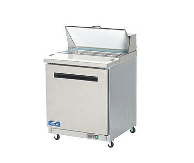 Arctic Air Amt28r Mega Top 29 Stainless Steel Sandwich Salad Prep Cooler