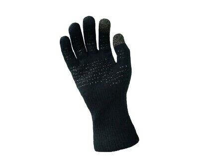 DexShell ThermFit Neo Waterproof Windproof Seamless Gloves with Silicone Grip