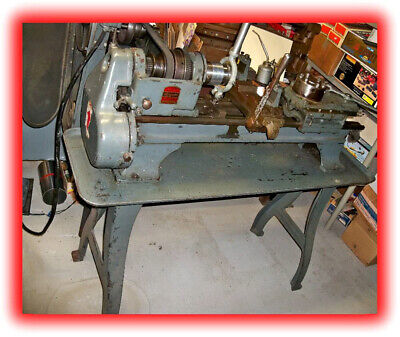 Logan Turret Lathe Model 850 W Royal Collet Closer 5-c