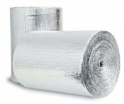 Reflective Foil Insulation Roll Double Bubble Reflectix 16x10 Rafter Seams