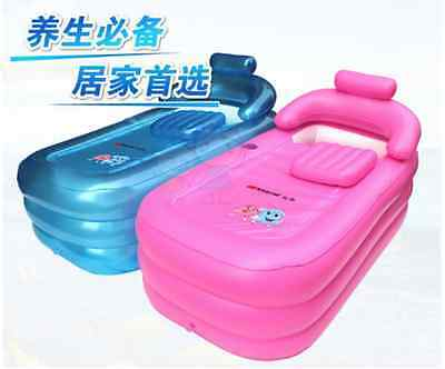 OUTDOOR INFLATABLE SPA BATH BATHTUB PORTABLE FOLDABLE ...