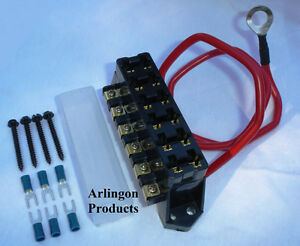 Temporary Box Fuse Holder furthermore Fuse holders besides 221945035362 as well 301027765056 further 12v Fuse Box. on automotive fuse box holder