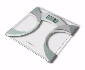 *NEW SEALED* Salter Bathroom Scales, Measure Weight BMI Body Fat. (Kettle, Toaster, Iron)