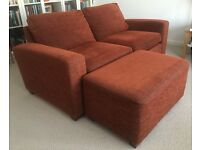 Large 3 Seater Sofa Bed with free Footstool