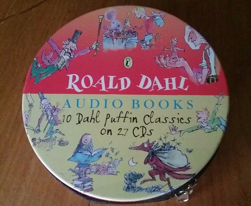 Roald Dahl Audio Book CD Set HELD FOR PAUL