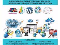 Professional Website Design | Responsive | SEO | Hosting | Email Services