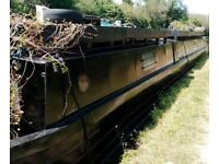 *NEW LOW PRICE* 70' Springer Narrowboat/ Barge/ Boat. Newly Painted and Blacked!