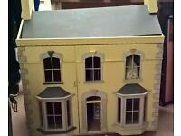 Large wooden dolls house G70