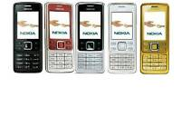 Brand New(Unlocked) Nokia 6300 Black,Red,Silver And Gold Colour