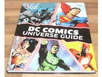DC COMICS UNIVERSAL GUIDE BOOK