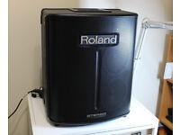 Roland BA-330 Stereo Portable Amplifier PA Speaker. Mains Or Battery Powered