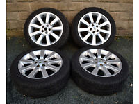 "20"" Genuine Range Rover alloy wheels tyres 5x120 Discovery 3 4"