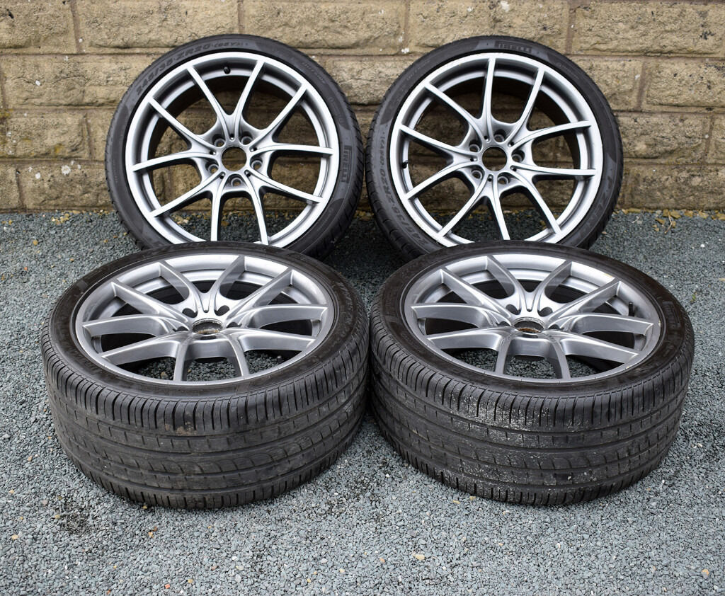 20 Quot Genuine Bmw 5 Series F10 Alloy Wheels And Tyres 5x120 F11 6 Series F12 F13 In Wakefield