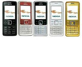 Brand New Unlocked Nokia 6300 Gold,Black,Silver And Red Colour