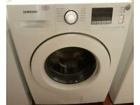 Samsung 7kg eco bubble washing machine in white colour