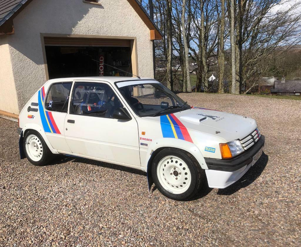 peugeot 205 1400 16v rally car | in campbeltown, argyll and bute