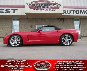 2006 Chevrolet Corvette 3LT CONVERTIBLE, Z51 PERFORMANCE PKG, NA