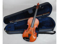 3/4 SIZE OTTO KLIER VIOLIN WITH CASE
