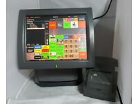 Aures Galeo Epos Screen Retail Grocery Scanning System ICR Touch Point 2020 Fast Food Cash Register