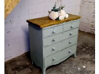 large solid chest of drawers