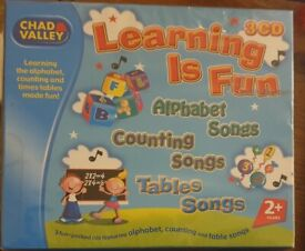 Chad Valley Learning Is Fun 3 CD Set