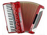 Bugari Armando - 4 Voice Musette - 41 Keys / 120 Bass with MIDI - Piano Accordion