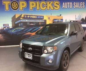 2012 Ford Escape XLT, V6, 4X4, LEATHER, SUNROOF, ALLOYS AND MORE