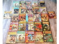 Collection of 27 , 1970s Conan Comics plus A Deluxe Limited Edition