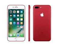iPhone plus red 128GB unlocked