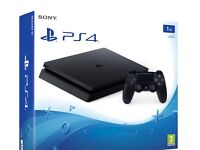 PS4 slimline 1tb storage