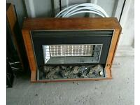 Retro gas fire and heater. Free to a good home
