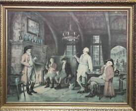 Landlords Story by F M Bennett - print with Frame