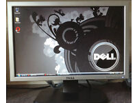DELL SE198WFPf 19 inch Widescreen TFT 5ms Flat Screen (VGA and DVI connectors) computer monitor