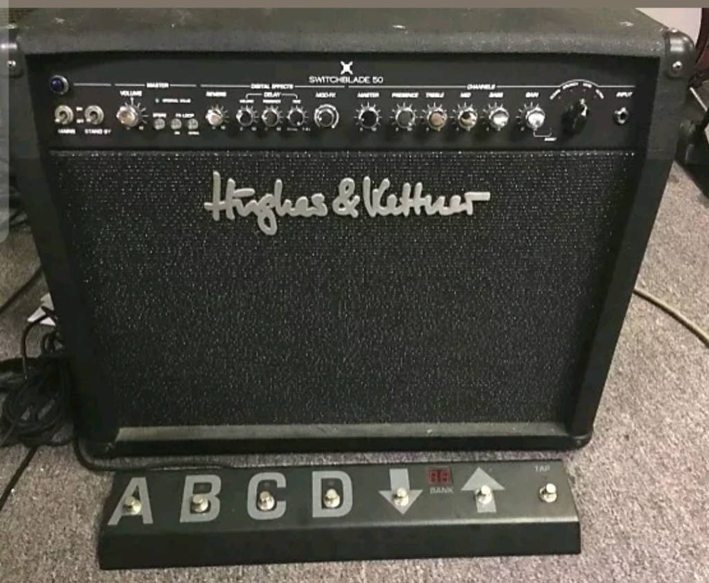 Hughes & Kettner 'Switchblade' valve amp.