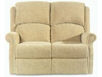 CELEBRITY GROSVENOR LUXURY 2 SEAT SOFA WITH ONE ELECTRIC RECLINING ARMCHAIR