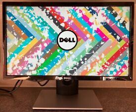 22 inch Dell HD LED HDMI Widescreen Computer Screen Monitor for PC / Apple Mac