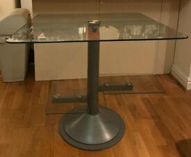 Modern glass desk/table