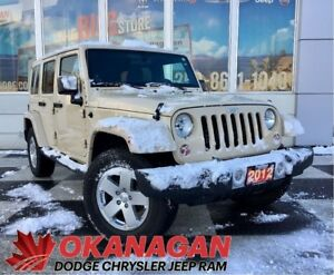 2012 Jeep WRANGLER UNLIMITED SAHARA | 1 Owner | Amazing Conditio